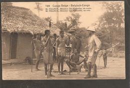 Congo Belge..Entier Postal.Postal Card 30 Cts.M.Franck Ministre Des Colonies.KABINDA>CAPETOWN>GENT 1926 - Congo Belge - Autres