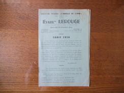 """SAINT JUST EN CHAUSSEE ETS LEROUGE APICULTURE MODERNE """"L'ABEILLE DE L'OISE"""" TARIF 1954 8 PAGES - Publicités"""