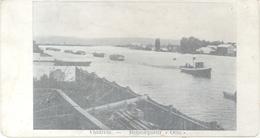 VALDIVIA REMORQUEUR OTTO CPA 1900s EDITION FRANCAISE DOS DIVISE UNCIRCULATED PETITE FORMAT RARE - Chili