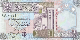 LIBYE   1/2 Dinar   ND (2002)   P. 63   Sign.4   UNC - Libye