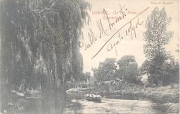 ON THE AVON CHRISTCHURCH CPA EDITEUR MUIR & MOODIE SIGNEE PABLO M. MONTI VOYAGEE 1906 A L'ARGENTINE BUENOS AIRES - Nieuw-Zeeland