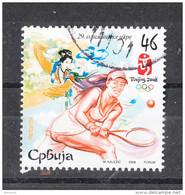 Serbia    -    2008.  Tennis Alle Olimpiadi Di Pechino. Tennis In Beijing Olympics - Tennis
