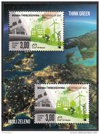 Bosnia Croatia 2016 Europa CEPT, Think GREEN, Environment, Bicycle, Block, Souvenir Sheet MNH - Europa-CEPT