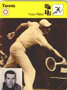 YVON  PETRA   /   FICHE   12X16 TENNIS / - Tennis