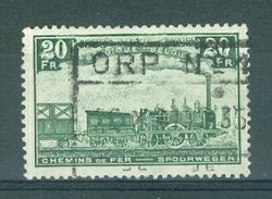"""BELGIE - OBP Nr TR 197 - Cachet  """"ORP Nr 1"""" - (ref. 10.989) - Chemins De Fer"""