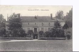 3 Cpa Et 1 CPSM Divers De Châteaux : Bardon, Aulnay, Coureilles à Périgny Et La Roche-Courbon à Saint-Porchaire - France