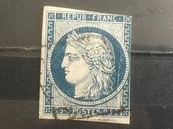 FRANCE YT 04.  Oblitéré. 1850. Côte 60.00 € - 1849-1850 Cérès