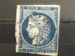 FRANCE YT 04.  Oblitération Petits Chiffres. 1850. Côte 60.00 € - 1849-1850 Cérès