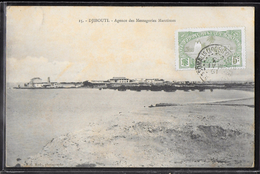CPA DJIBOUTI - Agence Des Messageries Maritimes - Gibuti
