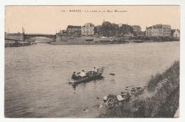NANTES - La Loire Et Le Quai Malakoff - Cachet Infirmerie Militaire Au Verso - 2 Scans - Nantes