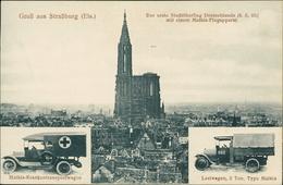 AK Straßburg (Els.) Strasbourg, Mathis Automobilwerke, Um 1915(1690) - Strasbourg
