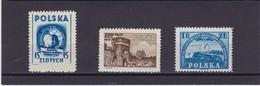 1948 Issues Mi. 503,504 MH,501MNH, Scott 434,435 MH433MNH, Yv. 5527,528MH,525MNH        047 - Nuovi