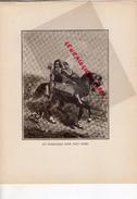 COSTUMES FRANCE XIXE S.- GRAVURE UN DOMESTIQUE POUR TOUT FAIRE- IMPRIMERIE DUMOULIN PARIS 1932- RAON L' ETAPE - Estampes & Gravures