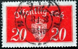 Norway 1934  Minr.14 II   34mm X18,5mm  NESTTUN   (  Lot  C 321 ) - Service