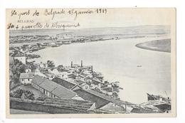 BELGRAD - Le Port De Belgrade Le 18 Janvier 1919  -   - L 1 - Serbie