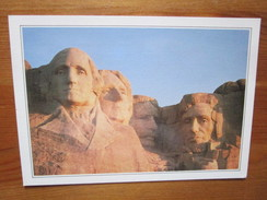 Mount Rushmore. Les Tetes De Quatre Presidents. Flashcard USA XXV-A2 - Mount Rushmore