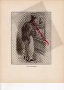 COSTUMES FRANCE XIXE S.- GRAVURE 41- VENDOME- TYPE VENDOMOIS- IMPRIMERIE DUMOULIN PARIS 1932- RAON L' ETAPE - Estampes & Gravures