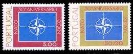 Portugal 1419/20** 30è Anniversaire De L'OTAN  MNH - 1910-... Republic