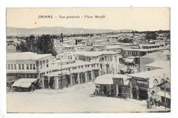 DAMAS  -  Vue Générale - Place Merfié  -   - L 1 - Syria