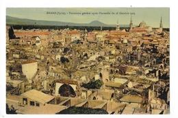 DAMAS  -  Panorama Général Après L'incendie Du 18 Octobre 1920  -   - L 1 - Syria