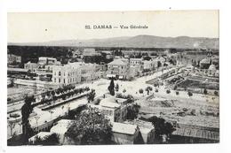 DAMAS  -  Vue Générale   -   - L 1 - Syria
