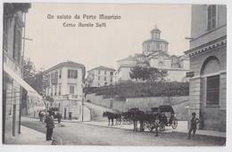 Un Saluto Da PORTO MAURIZIO - Corso Aurelio Saffi - Imperia