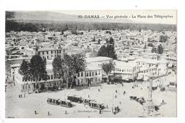 DAMAS  -  Vue Générale - La Place Des Télégraphes  -   - L 1 - Syria