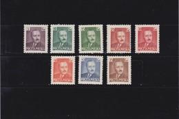 1950 Definitives 8v. Mi. 671/78, Scott 490/96, Yv. 589/96 Mint Never Hinged **       037 - Ungebraucht