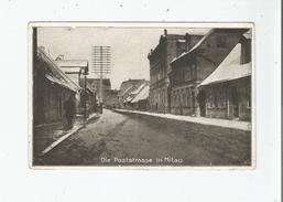 DIE POSTSTRASSE IN MITAU 447  (JELGAVA LETTONIE) 1917 - Lettonie