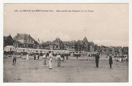 *b* - LA BAULE-sur-MER - Une Partie De Croquet Sur La Plage - Animée - édit. F. Chapeau, 241 - La Baule-Escoublac