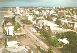 GA - Libreville - Vue Aérienne Du Boulevard De L'Indépendance - Tropic Photo / J. Trolez N° A 308 F (écrite 1985) - Gabon