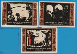 STADT FÜRSTENWALDE / SPREE 3x 20 Pfennig  1921  NOTGELD - [11] Emissions Locales