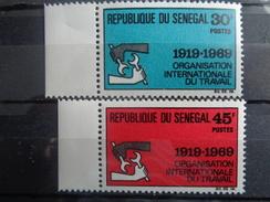 SENEGAL  Y&T N° 318 ET 319 ** - Senegal (1960-...)