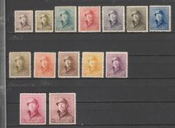 COB 165 / 178 * Neuf Avec Charnière Très Bel état Roi Casqué Série Complète Cote 900 Euros - 1919-1920 Roi Casqué