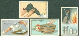 4 Original Cards Gallaher Cigarettes Tobacco Serie How To Do It 1916 - Gallaher