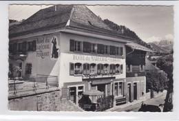 Charmey, Hôtel Du Maréchal-Ferrant. Bureau De Poste - FR Fribourg