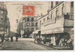 92      Levallois-perret     Rue Vallier Et Place Chaptal - Levallois Perret
