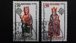 Andorra 258/9 Oo/ESST, EUROPA/CEPT 1974, Madonna Von Pal, Madonna Von St. Coloma