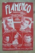 Partition - Jacques Hélian, Armand Mestral - Flamenco - Ed. Jacques Plante - Canto (solo)