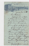 Genova - Hotel De France - Prec. 1895    (A26-101227) - Genova (Genoa)
