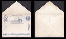 PENNY BLUE England 1840 Mi Pws Uniform PENNY Postage Unaddressed Railway Postman.................................f&b 611 - 1840-1901 (Victoria)