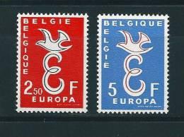 Belgique Timbres Neuf  ** De 1958 N°1064/65  Europa - Belgique