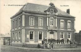A-17-4306 : FLAVY-LE-MARTEL. LA MAIRIE - Sonstige Gemeinden