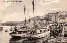Embarquement Pour Quiberon. - Belle Ile En Mer