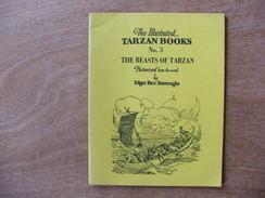 Tarzan The Illustrated Books N°3 House Of Greystoke The Beasts Of Tarzan  Rex Maxon - Livres, BD, Revues