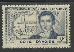 COTE D´IVOIRE 1939 YT 143** - SANS CHARNIERE NI TRACE - MNH - Côte-d'Ivoire (1892-1944)