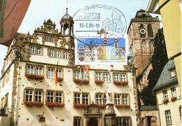 "BRD Maximumkarte ""1250 Jahre Bad Hersfeld"" Mi 1271 ESSt 13.2.1986 BAD HERSFELD - BRD"