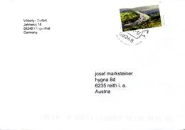Auslandsbrief Von 08248 Klingenthal Mit 90 Cent Moselschleife 2017 - BRD