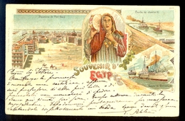 Souvenir D' Egypte / Year 1902 / Postcard Circulated, 2 Scans - Egypt