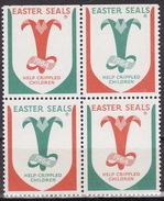 1964 USA - Cinderella Vignetta - CRIPPLED CHILDREN - Handicaps